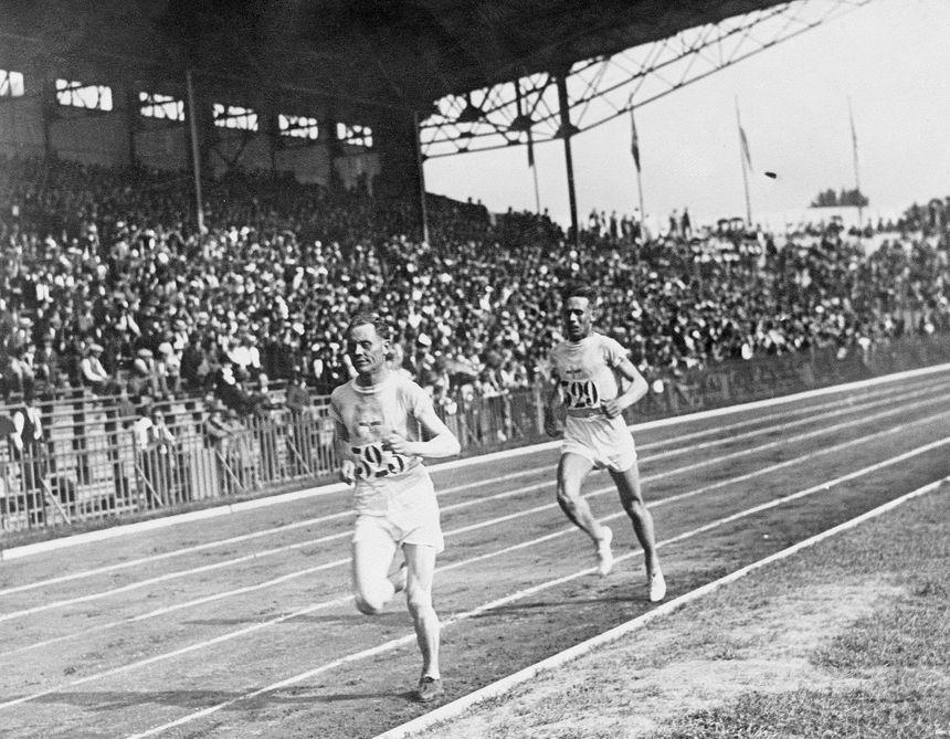 Le finlandais Paavo Nurmi aux Jeux de Paris - 1924