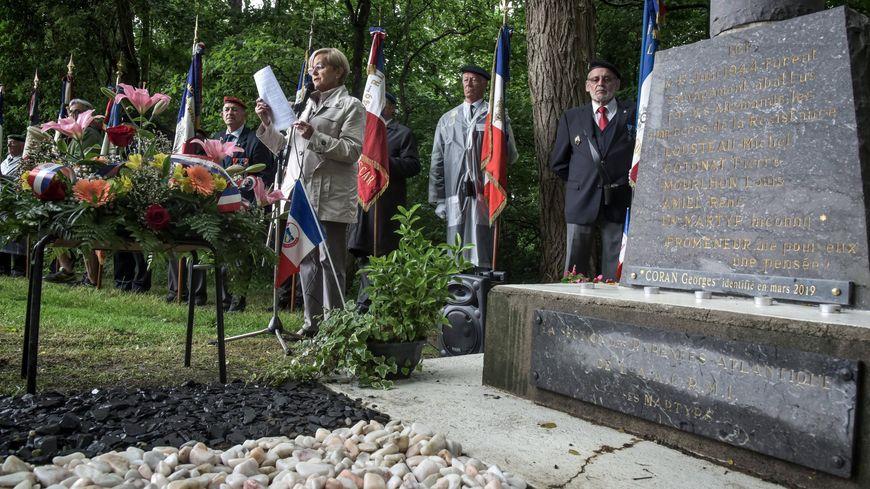 75 ans après et pour la première fois, la cérémonie en hommage aux fusillés d'Idron inclut Georges Coran.