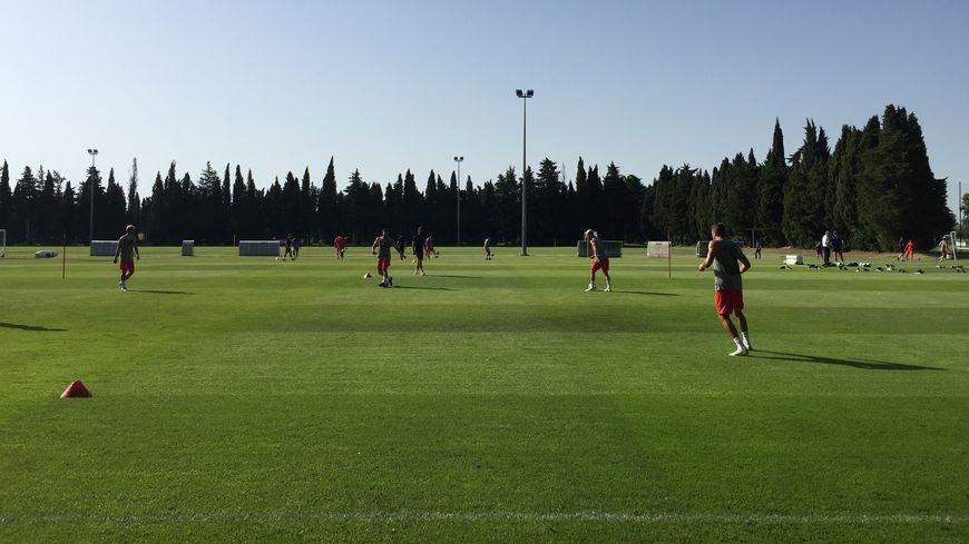 Les footballeurs du Nîmes Olympique ont repris le chemin de l'entraînement ce mercredi