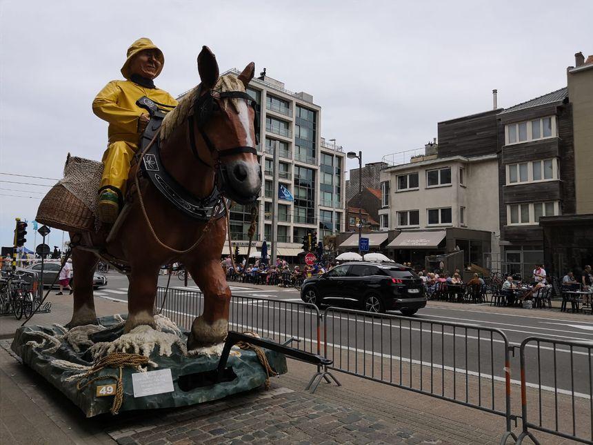 La pêche à cheval est reconnue au patrimoine mondial de l'Unesco, et une vraie fierté dans la commune d'Oostduinkerke.