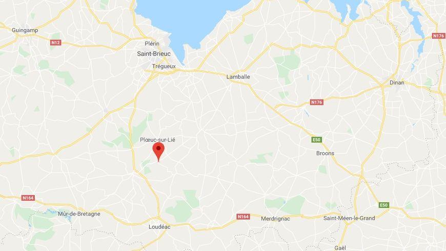 Le dramatique accident s'est déroulé mercredi soir à Gausson entre Saint-Brieuc et Loudéac.