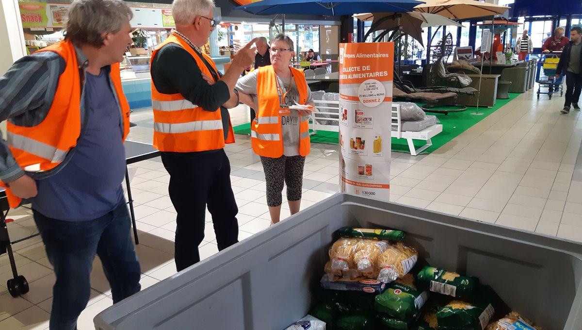La Banque Alimentaire de Dordogne fait appel à votre générosité ce week end dans les grandes surfaces du département.