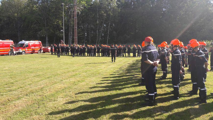 La promotion 2019 des jeunes sapeurs-pompiers des Vosges