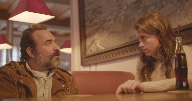 Le Daim : Adèle Haenel et Jean Dujardin
