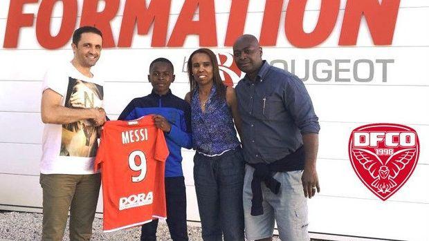Rayane Messi a signé au club de football de Dijon