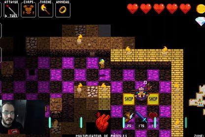 """""""Crypt of the Necrodancer"""", quand le jeu vidéo teste les limites de votre sens du rythme"""