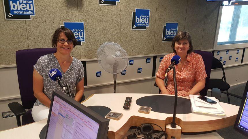 Caisse primaire d'assurance maladie - Claudie Guardo-Lemieux et Christine Allard sur France Bleu Normandie