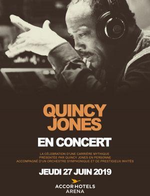 Quincy Jones en concert le 27 juin 2019