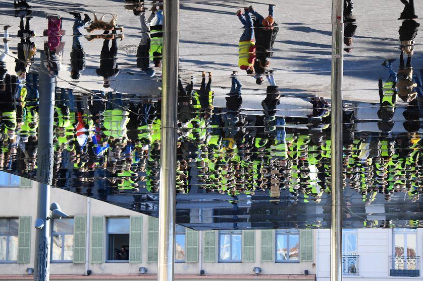 Des Gilets jaunes à Marseille, le 12 janvier 2019
