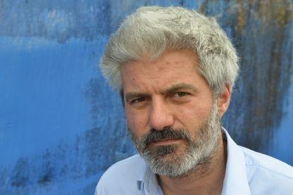 Portrait de l'écrivain Laurent Gaudé
