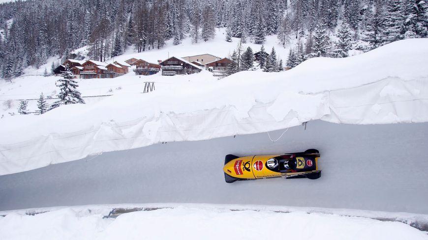 Piste de bobsleigh de La Plagne