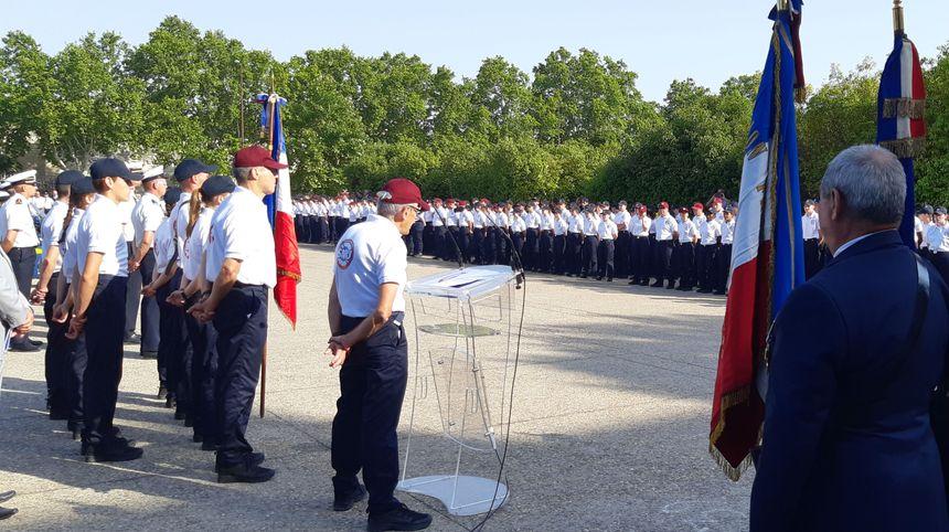 Cérémonie de remise des diplômes aux premiers volontaires du SNU