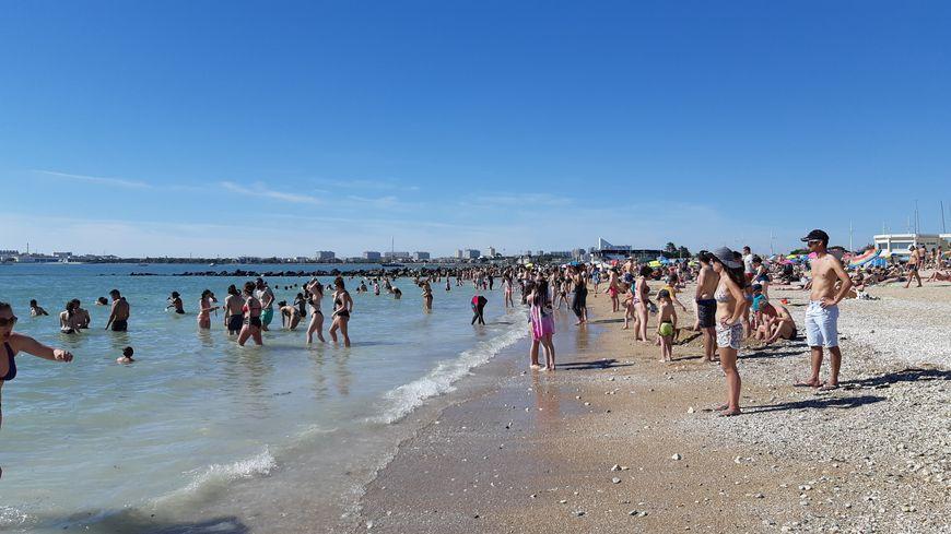 Plage des minimes à La Rochelle