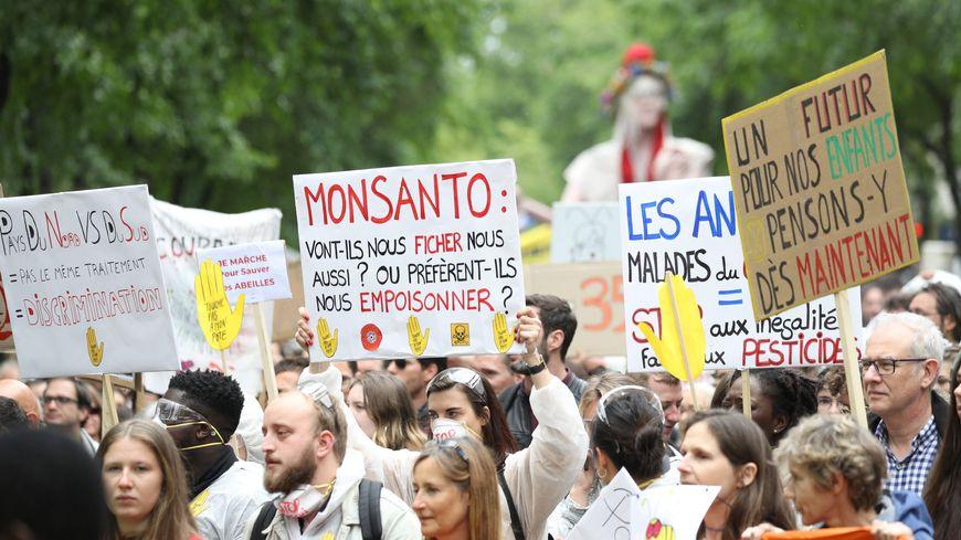 Photo d'illustration. Manifestation anti OGM