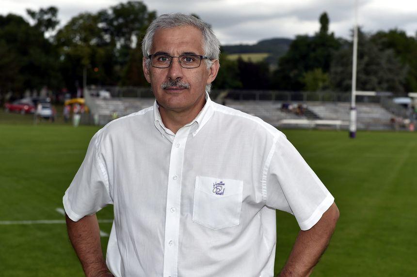 Claude Pojolat, président de l'US Issoire, promue en Fédérale 1