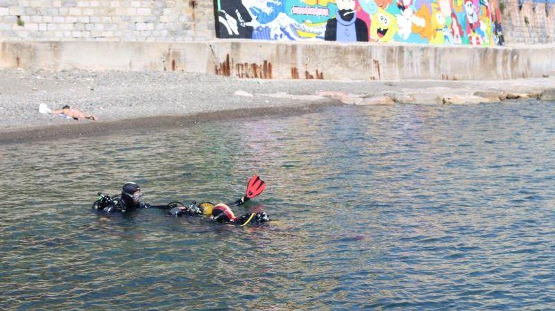 Plongée au Cap Cerbère
