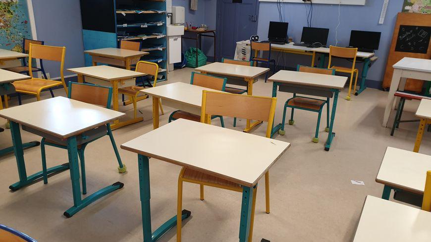 Salle de classe à l'école La Courbe D'Aytré
