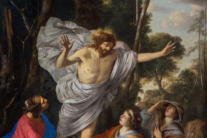 Apparition du Christ aux trois Marie, vers 1640 - Laurent de la Hyre