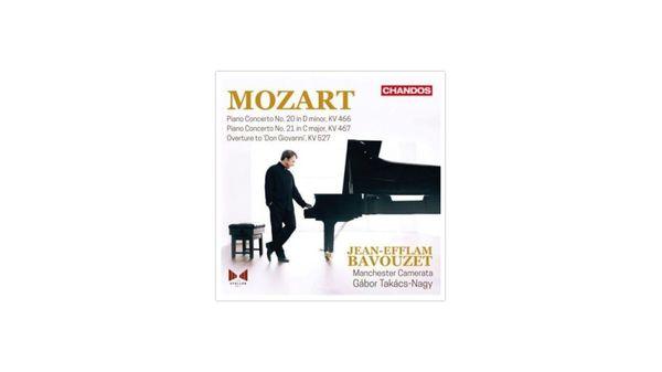 Mozart : Concertos pour piano n°20 et 21