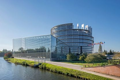 Le Parlement européen à Strasbourg en 2015