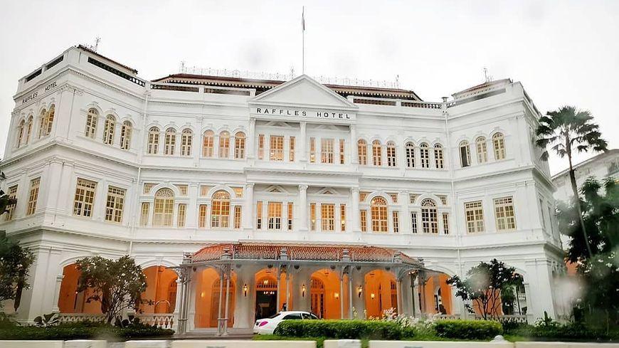 La dame de Pic est située à l'intérieur d'un palace de Singapour