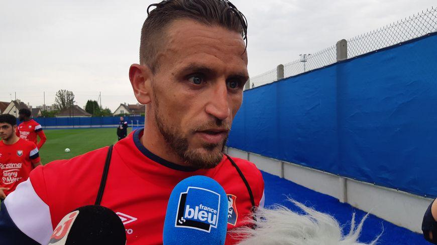 Anthony Gonçalves a participé à son premier entraînement avec le SM Caen