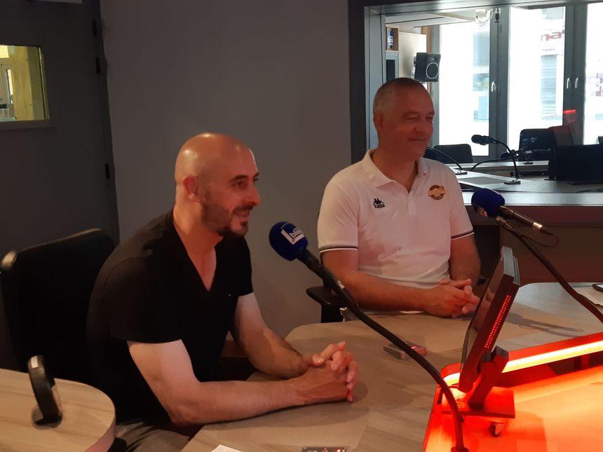 Germain Castano et Philippe Pezet