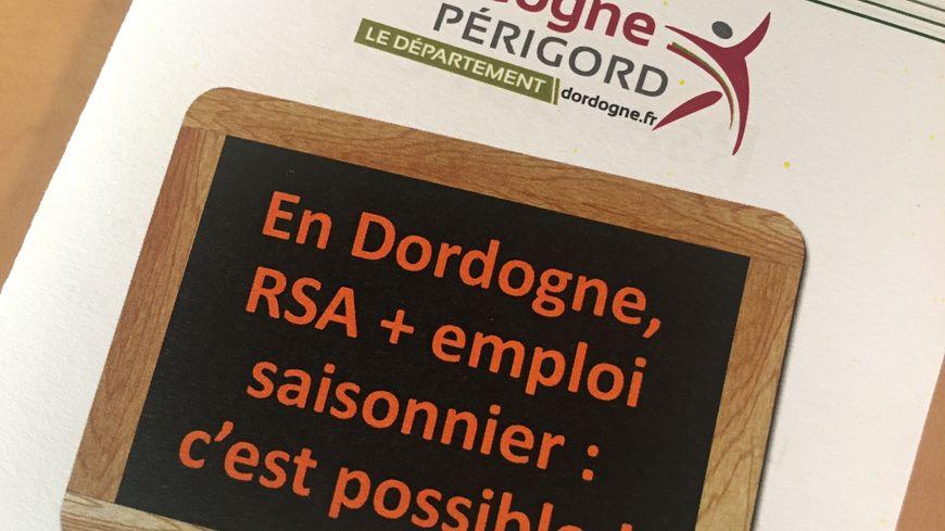 Il sera possible de cumuler RSA et emploi saisonnier en Dordogne