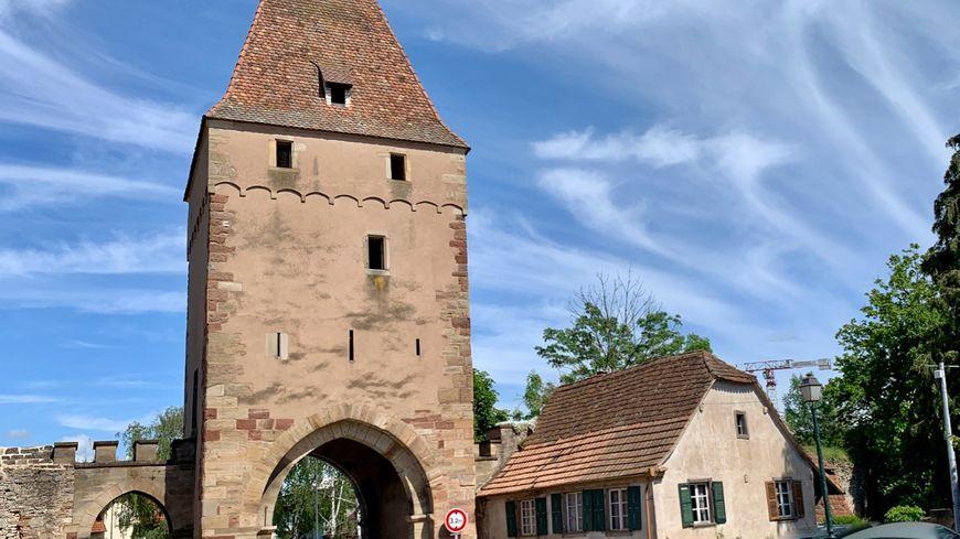 Rosheim, l'une des portes