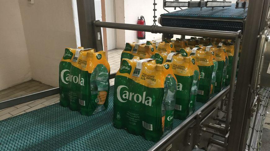 La chaîne produit 22.000 bouteilles par heure