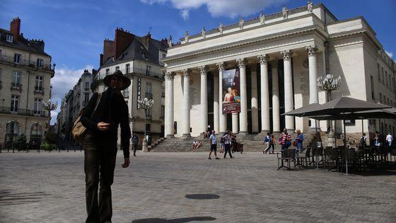 Le théâtre Graslin, lieu des représentations nantaises d'Angers-Nantes Opéra