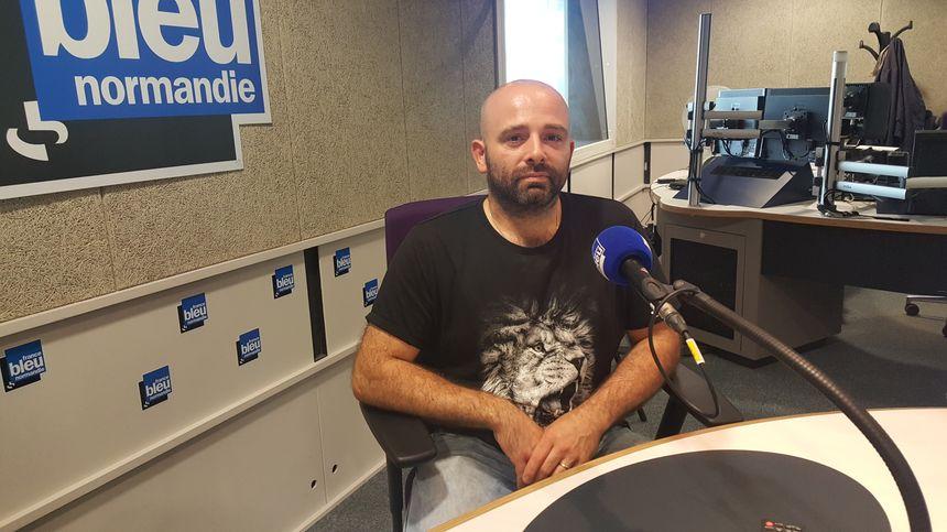 Adrien Poutier du restaurant La Pomme d'Happy dans le Calvados à Saint Rémy sur Orne