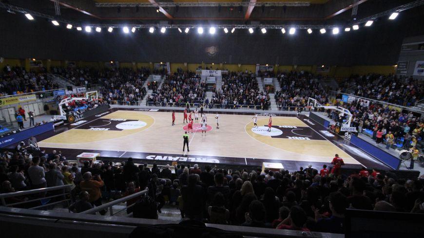 Le palais des sports d'Orléans sera plein et l'ambiance s'annonce chaude (Image d'archives face à Nancy)