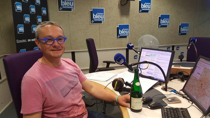 Arnaud Didier de la Chambre Régionale d'Agriculture de Normandie.