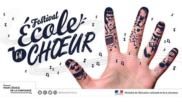 Grand concert national du Festival École en choeur 2019