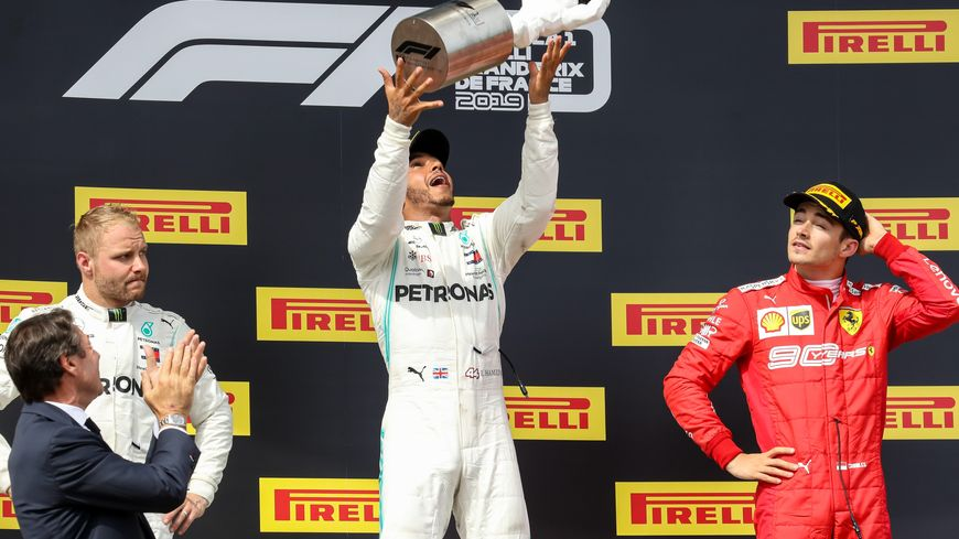 Lewis Hamilton s'impose sur le circuit du Castellet