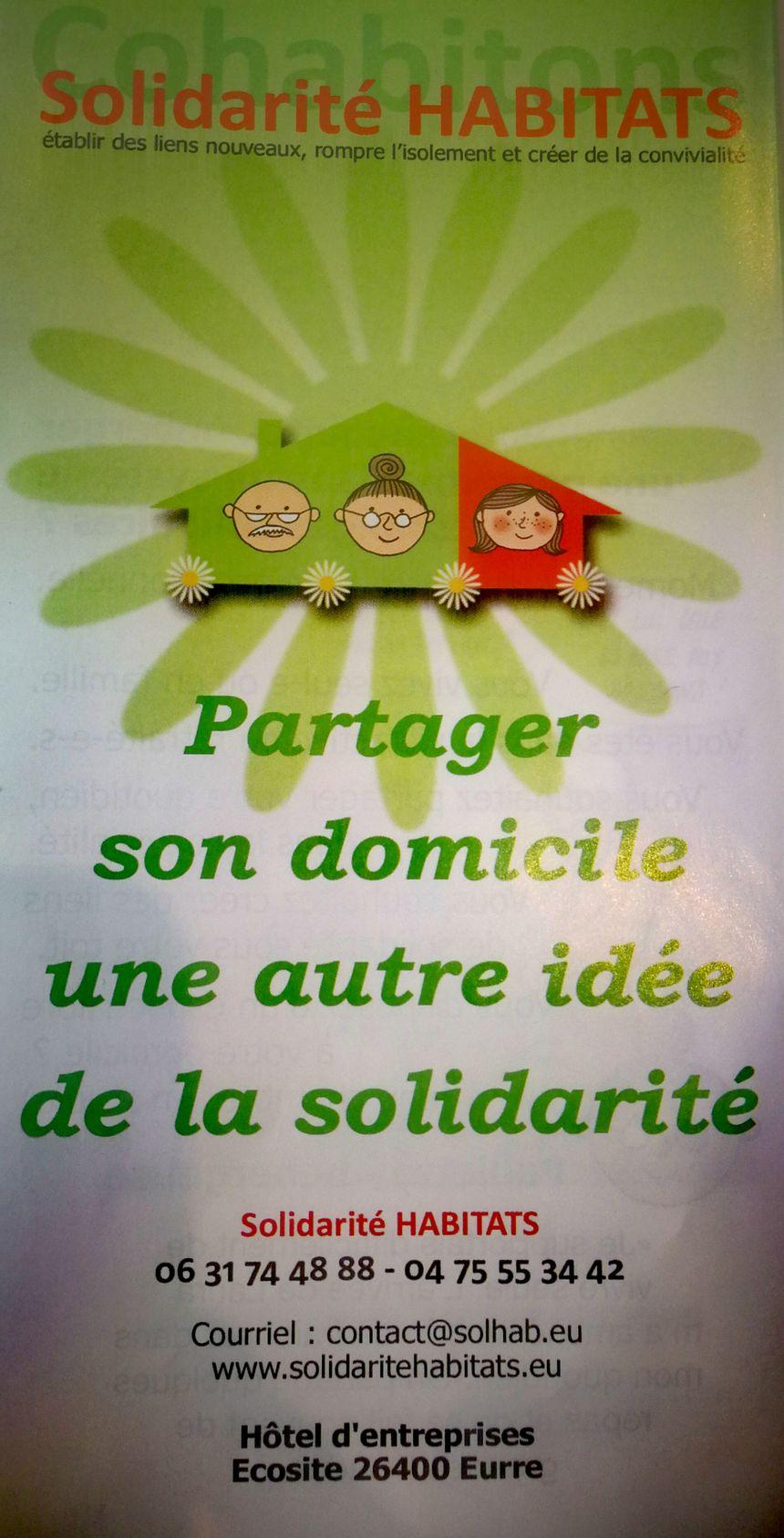 Solidarité Habitats flyer
