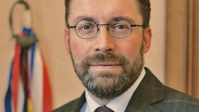 David NICOLAS, président de la Communauté d'Agglomération Mont-Saint-Michel Normandie