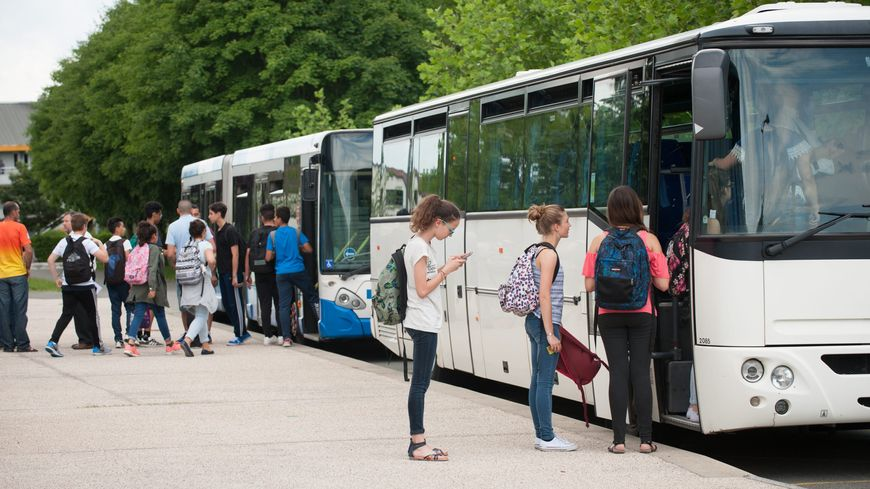 Transports scolaires, photo d'illustration
