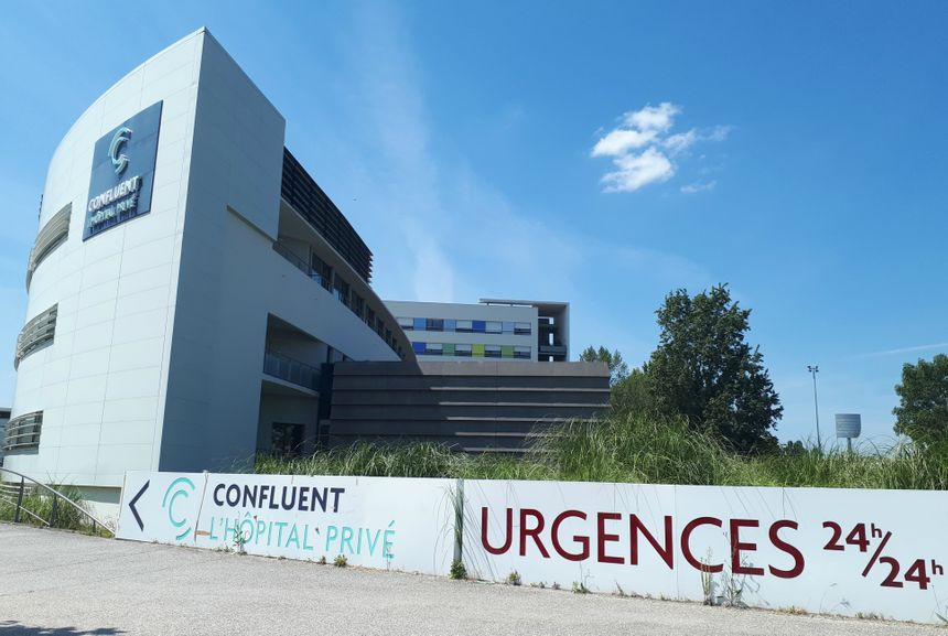 L'hôpital privé Confluent à Nantes