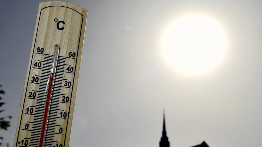 Le mercure est monté jusqu'à 37,8°C à Laval ce samedi.