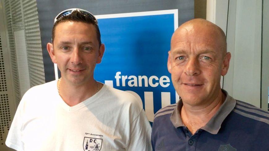 Benoit Toporel et Bertrand Cherrier