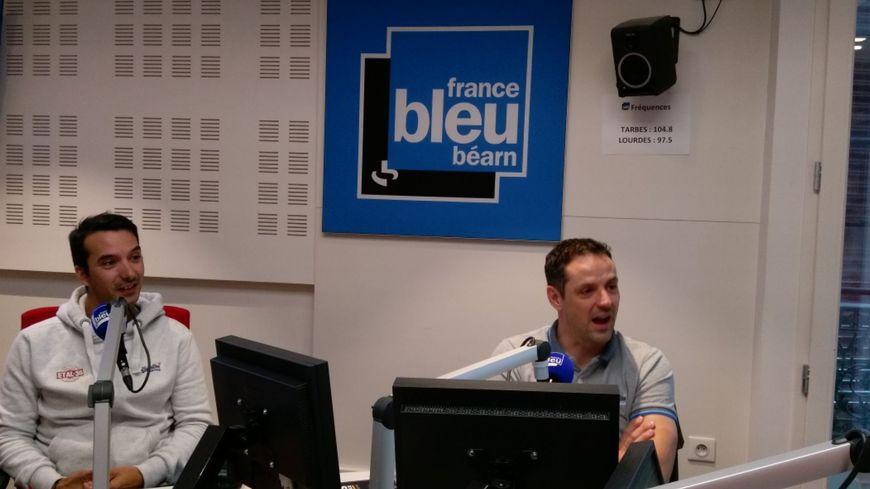 Luc Bankuti le chef et Benjamin Carrasco le patron pendant l'émission