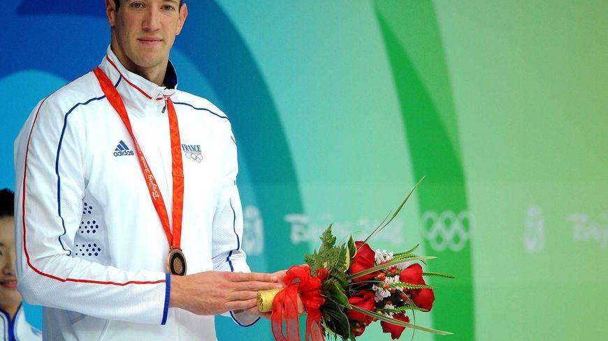 Alain Bernard, aux jeux olympiques de Pékin en 2008