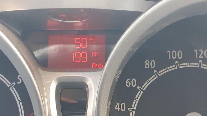 50 dégrés dans la voiture stationnée à Mauguio