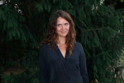 Elise Otzenberger, actrice, adaptatrice, et dialoguiste au Festival d'Angoulême le le 24 août 2018.