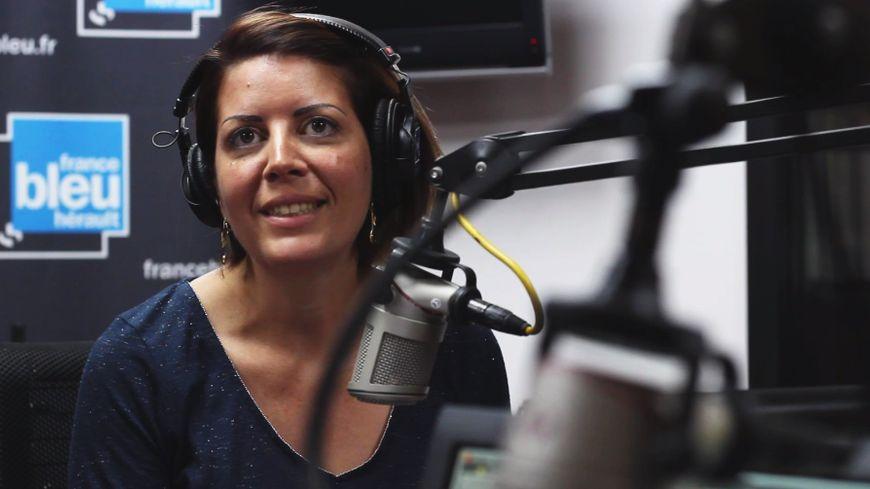 Gwenaelle Guerlavais, chroniqueuse sur France Bleu Hérault