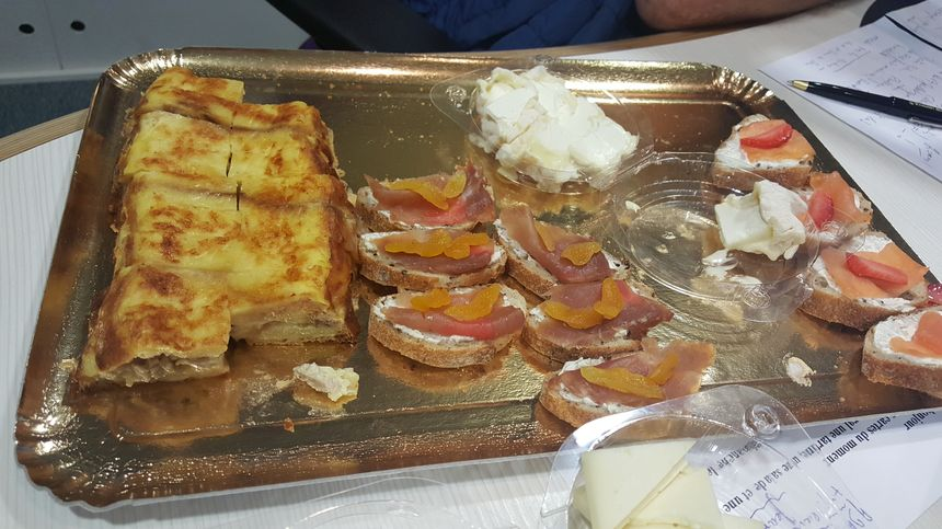 Les tartines d'Adrien Poutier du restaurant La Pomme d'Happy dans le Calvados à Saint Rémy sur Orne