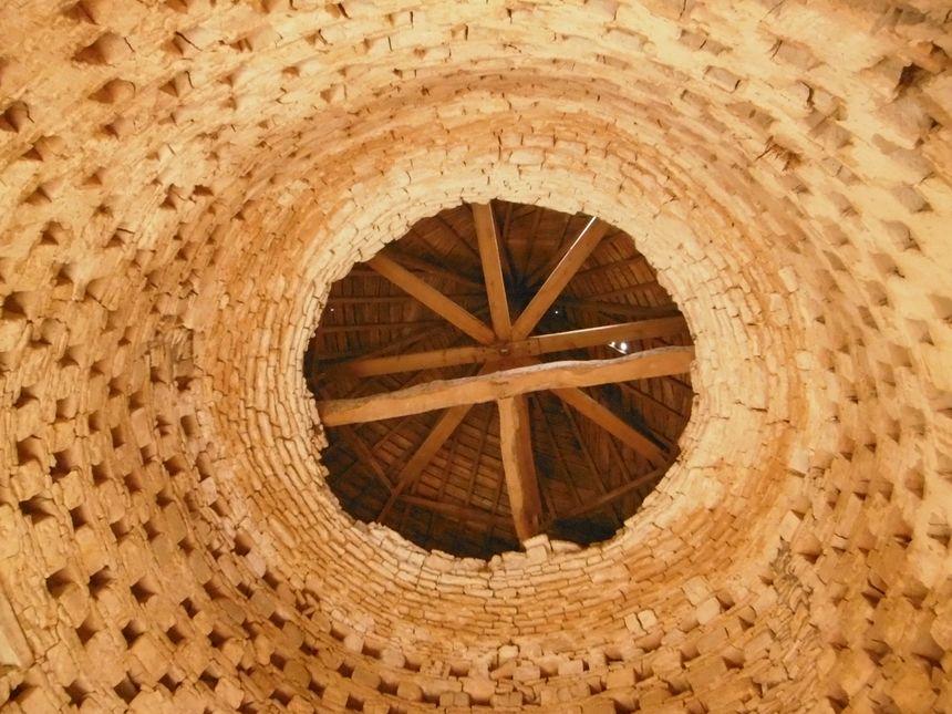 L'intérieur du colombier