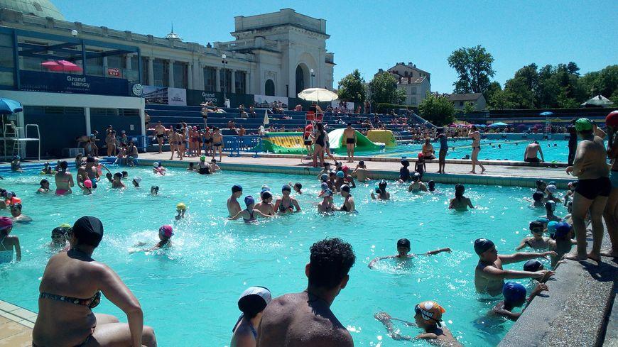 La piscine de plein-air Louison Bobet de Nancy a rouvert ce samedi 29 juin 2019.